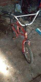 Bicicleta Niño R16 Con Rueditas