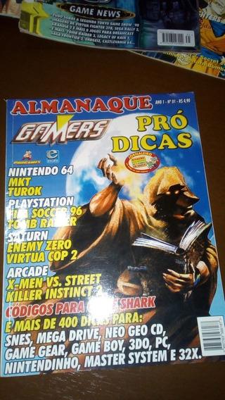 Revista Almanaque Gamers Pró Dicas
