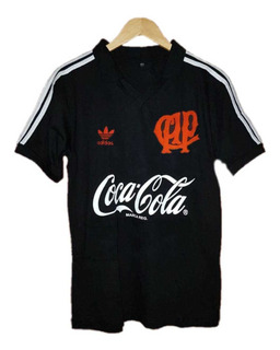 Camisa Athletico Paranaense Retrô 1989 Black