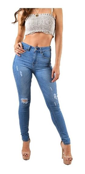 Jeans Dama Rotos Mercadolibre Com Mx