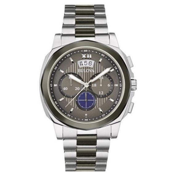 Relógio Masculino Analógico Bulova, Caixa De 4,0x4,1 Cm, Pul
