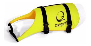 Chaleco Salvavidas Para Perro Marca Oxígeno En Tres Talles