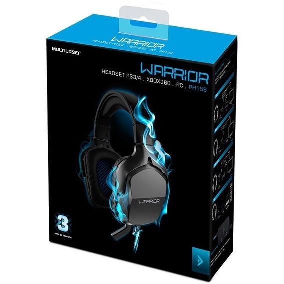 Headset Gamer Warrior Multilaser - Ph158