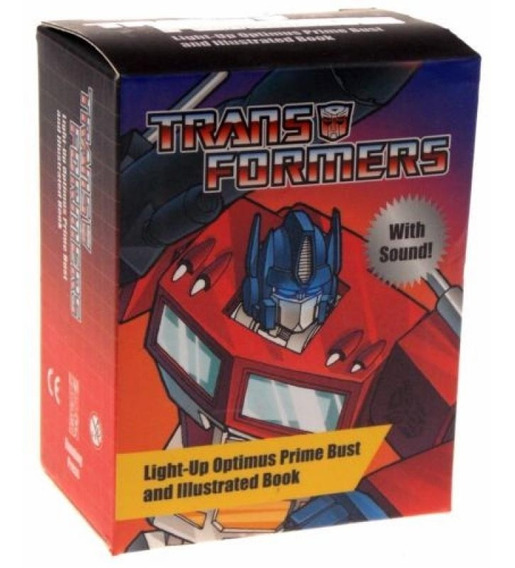 Transformers - Light-up Optimus Prime Bust And Illustrated B
