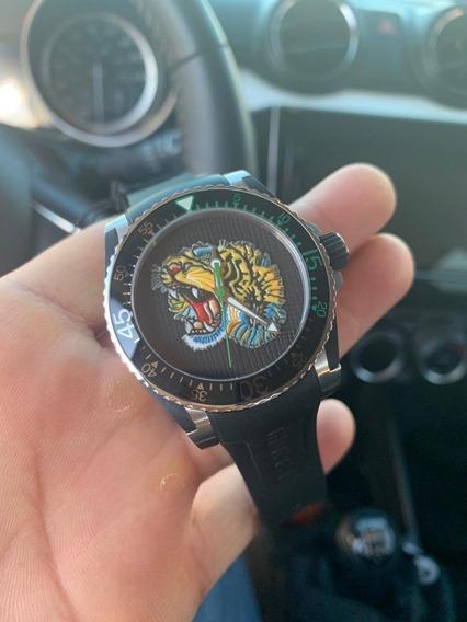Reloj Gucci Dive Suizo Tiger Tigre Swiss Made Nuevo Caja