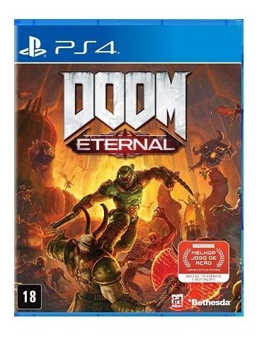Doom Eternal - Ps4 - Mídia Física!