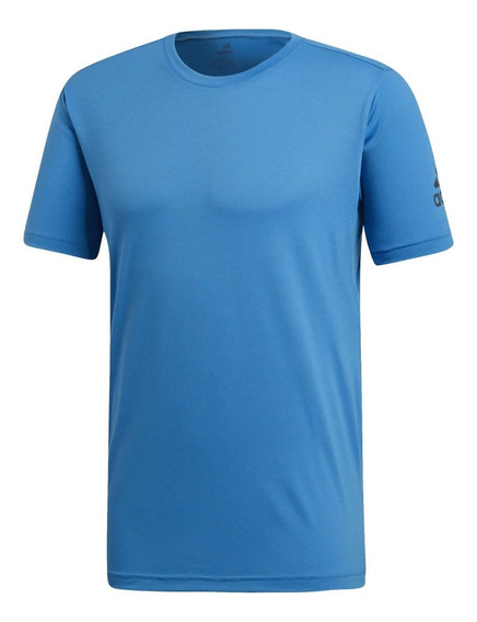 Remera adidas Freelift Climacool Hombre Blue