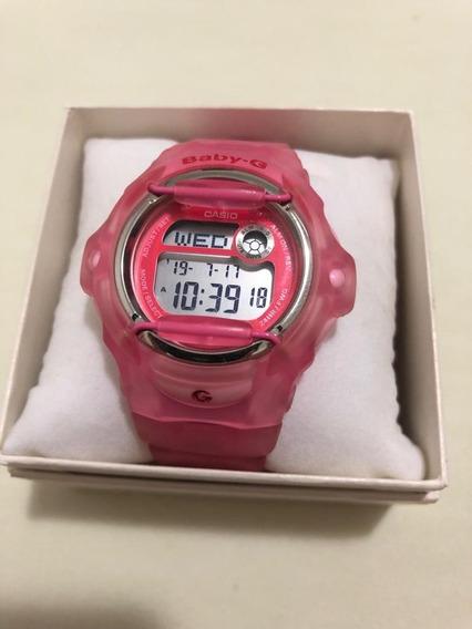 Relógio Casio Baby G Feminino Transparente