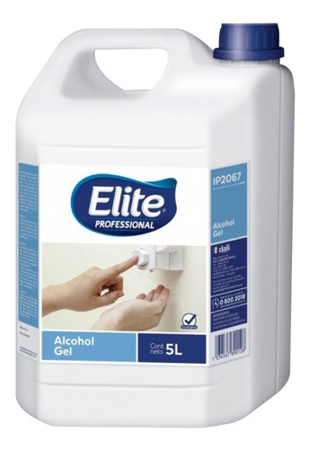 Alcohol Gel Spray Elite Professional 5l