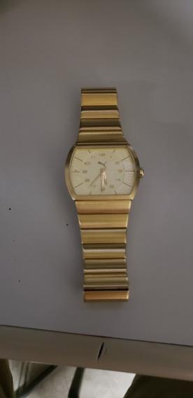 Relógio Dourado Original Puma