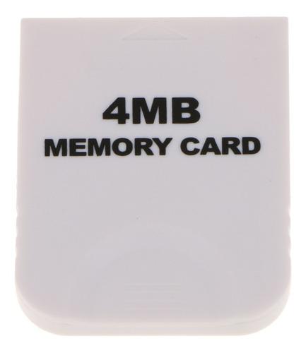 Cartão De Memória De Armazenamento Prático Para Nintendo Wii