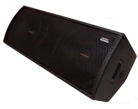 Monitor Retorno Ativo Nhl 2x12 + Titanio 1000w Amplificado