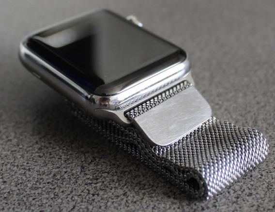 Apple Watch Series 2 42mm S. S. Case Milanese Loop S. S.