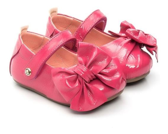 Sapatilha Verniz Pink Gambo