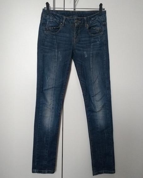 Calça Jeans Infantil Feminina Zara Kids Tam 9-10 Roupa