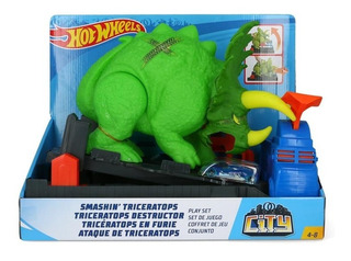 Triceratops Destructor Hot Wheels