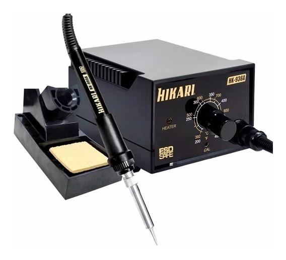 Estação De Solda Profissilnal Hikari Hk-936a 127v Original