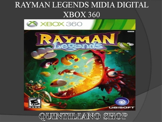 Rayman Legends Midia Digital Xbox 360