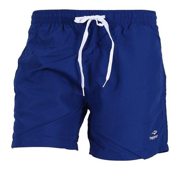 Short De Baño Topper Slim Azul Rcmdr