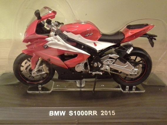 Miniatura Moto Bmw S1000rr Vermelha Salvat 1:18 (11 Cm)