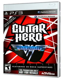 Juego Ps3 Guitar Hero Van Halen Ps3