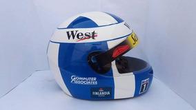 Capacete David Coulthard Temporada 98 Casco Fly