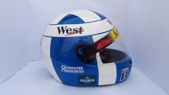Capacete David Coulthard Temporada 98 Casco Fly