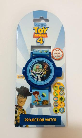 Reloj Toy Story Buzz Y Woody Con Proyector De 10 Imagenes