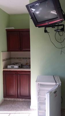 Alquiler Full Amueblados, Aparta Estudios, En Zona Colonial
