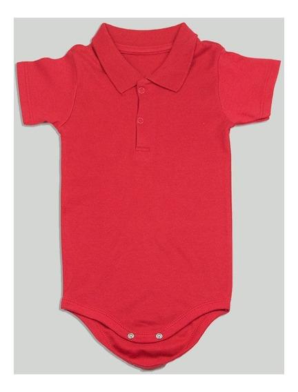 Body Gola Polo Bebê Vermelho