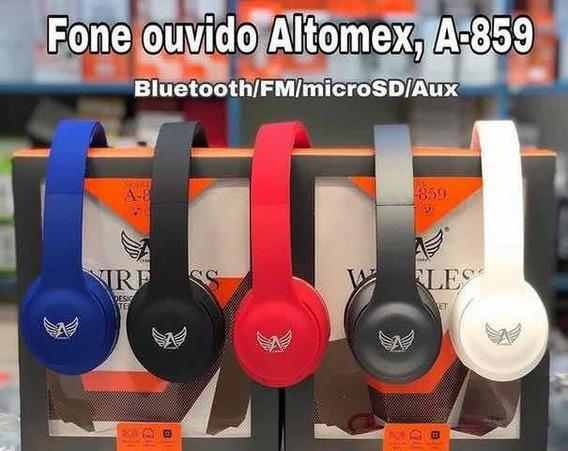 Fone De Ouvido Altomex Original Celular Android Ios Música