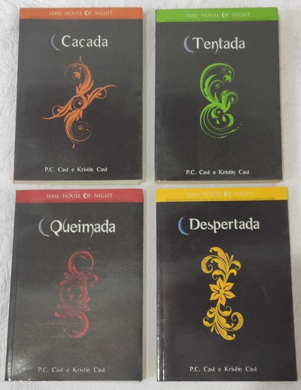 Box Série House Of Night 8 Volumes