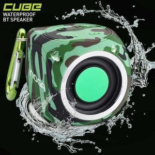 Parlante Bluetooth Noga Cube Resistente Al Agua
