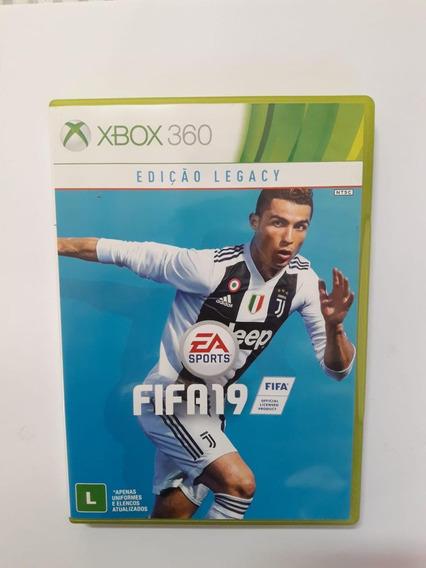 Fifa 19 Xbox 360 Original Em Midia Fisica.