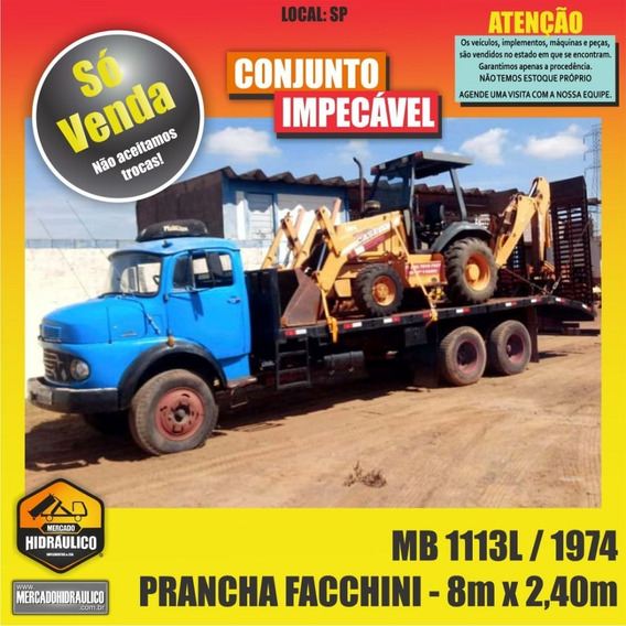 Mb 1113l / 1974 - Prancha Facchini 8m X 2,4m