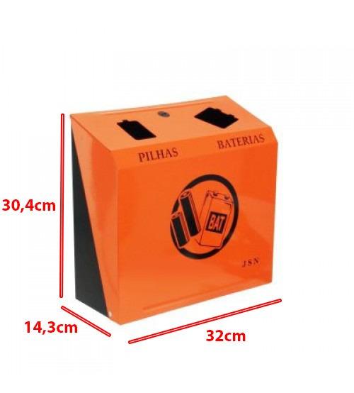Lixeira Para Descarte E Coletor De Pilhas E Baterias