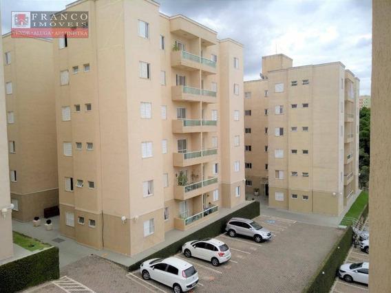 Apartamento Com 3 Dormitórios Para Alugar, 80 M² Por R$ 1.450,00/mês - Condomínio Quinta Das Jabuticabas - Valinhos/sp - Ap0403