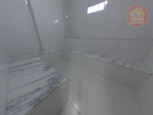 Apartamento Com 2 Dormitórios À Venda, 101 M² Por R$ 537.000 - Vila Assunção - Praia Grande/sp - Ap5075