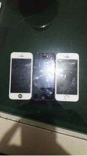 3 iPhone 5/5s Peças Ou Concerto