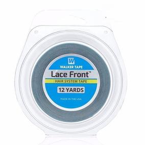 Fita Adesiva 11m Azul Lace Front Protese E Mega Hair 1,27cm