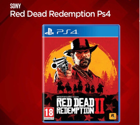 Jogo Red Dead Redemption 2 Mídia Física - Ps4