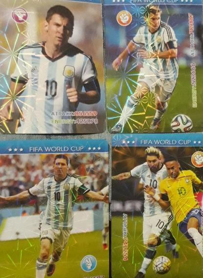 Cartas Messi Russia 2018 (no Es Oficial)
