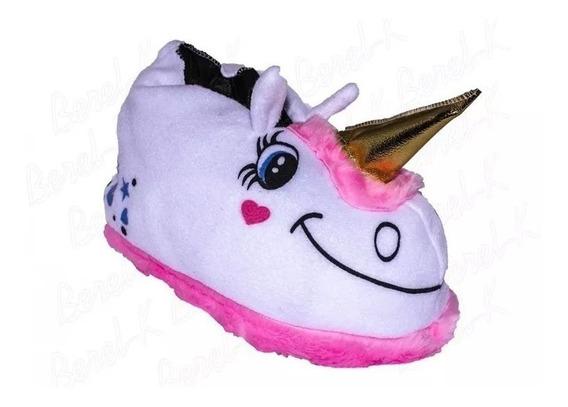 Pantuflas Unicornio Mujer Dama Nenas Invierno Casa Andrea!!