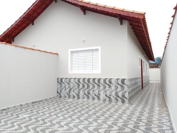 Casa À Venda Em Mongaguá, Balneário Itaguaí - Ref 7800 E