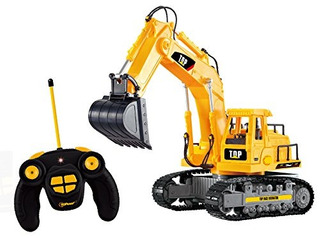 Excavator Eléctrica De Baterías Top Race A Control Remoto