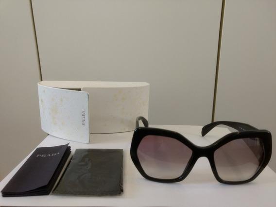 Óculos De Sol Prada Original Com Grau Em Uma Lente