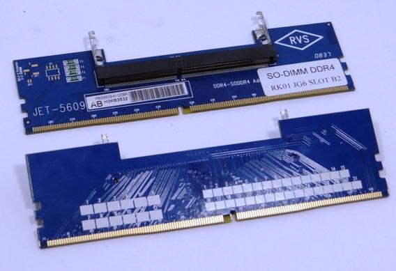 Adaptador Memoria Ram Ddr4 Notebook Para Desktop Jet-5609ab