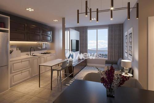 Imagem 1 de 9 de Apartamento À Venda, 39 M² Por R$ 238.524,47 - Centro - Novo Hamburgo/rs - Ap2570