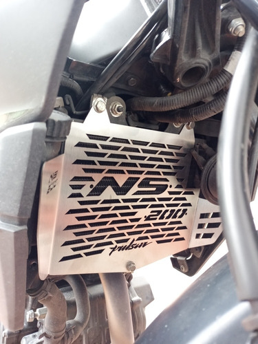Protector De Radiador Ns 200 - Parrilla Radiador Ns 200 Fi