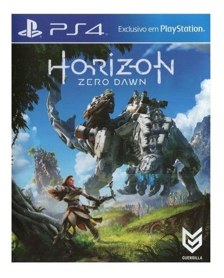 Horizon Zero Dawn Ps4 Capa Dura Mídia Física Pronta Entrega
